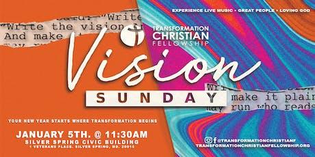 TCF Vision Sunday tickets