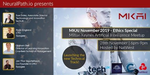 MKAI November   Artificial Intelligence Meetup   AI Ethics   Key Algorithms
