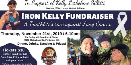 IronKelly Fundraiser - A triathlete's race against Lung Cancer  tickets