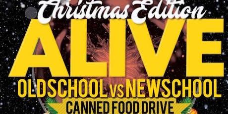 MARL6VE & LINDOR PRESENTS  ALIVE OLD SCHOOL VS NEW SCHOOL- XMAS EDITION tickets