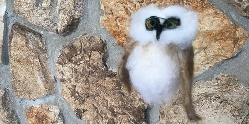 Owl about owls: learn to felt those cute Christmas ornaments