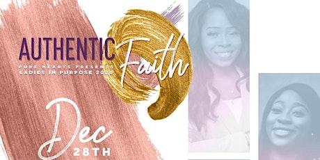 Authentic Faith 2020 tickets