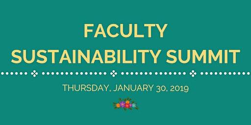 Faculty Sustainability Summit