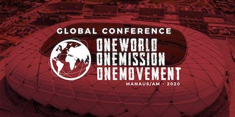 Conferência Global 2020 / PCG ingressos
