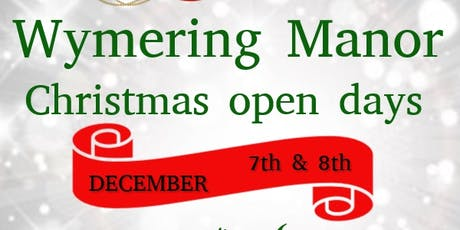 Christmas Open Day at Wymering Manor tickets