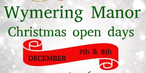 Christmas Open Day at Wymering Manor