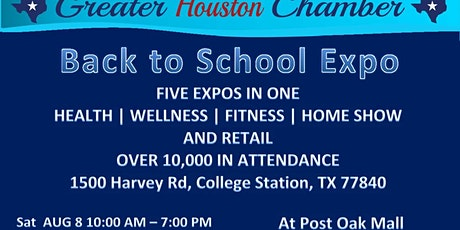 Back To School Expo @ Post Oak Mall tickets