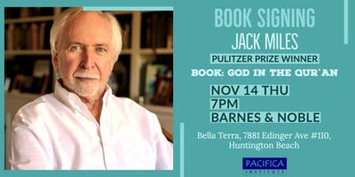 Book Signing with Pulitzer Prize Winner Jack Miles