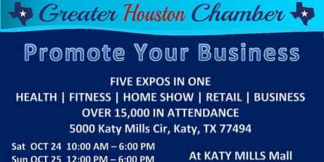 Promote Your Business Expo @ Katy Mills Mall tickets
