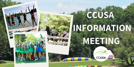 Camp Counselors USA Auckland FREE Information Meeting tickets