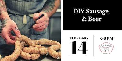 Valentine's Day DIY Sausage & Beer