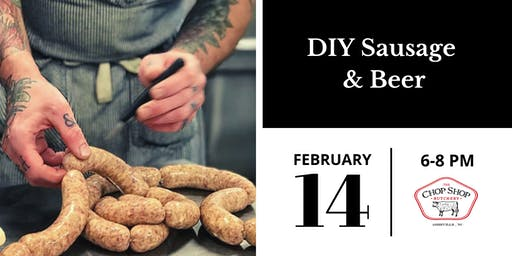 Valentine's Day DIY Sausage & Beer