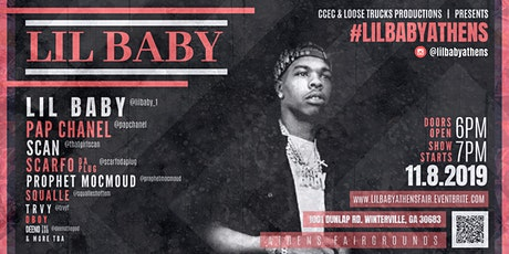 Lil Baby Live @ Athens Fairground tickets