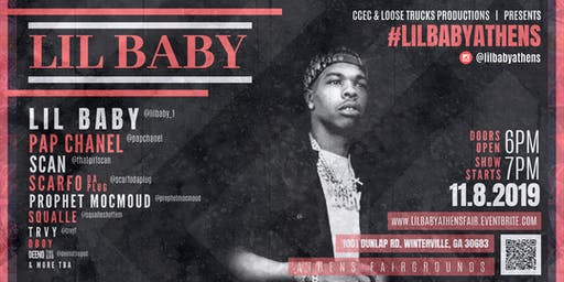 Lil Baby Live @ Athens Fairground
