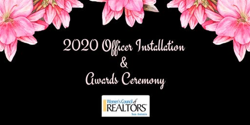 2020 Installation & Awards Ceremony