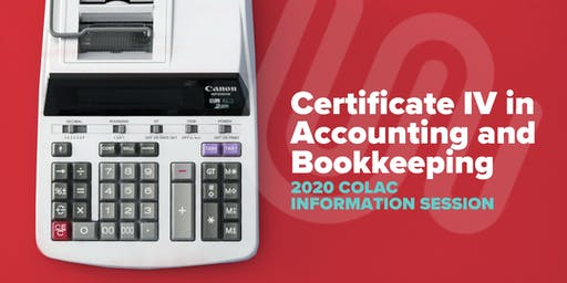 Accounting & Bookkeeping 2020 Information Session - Colac