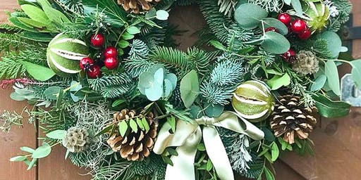 Christmas Wreath Making Workshop - Create your very own Christmas wreath