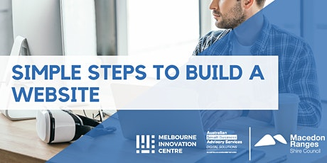 Simple Steps to Build a Website - Macedon Ranges tickets