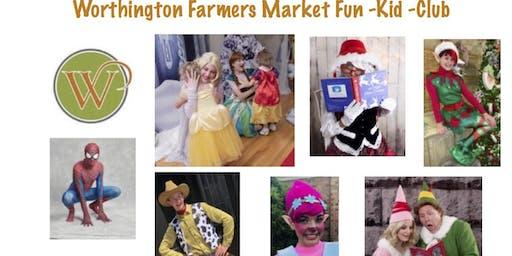 Worthington Farmers Market Kid-Fun-Club
