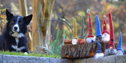 Gnomes and Elves:  learn to felt those adorable creatures