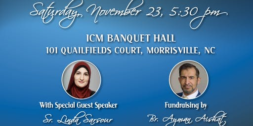 Islamic Center of Morrisville Fall Fundraiser