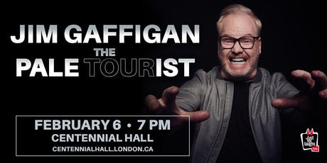 JIM GAFFIGAN: PALE TOURIST TOUR tickets