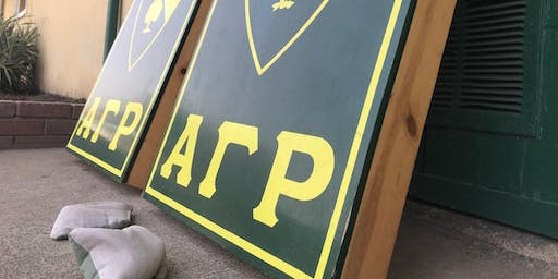 Alpha Gamma Rho Cornhole Tournament