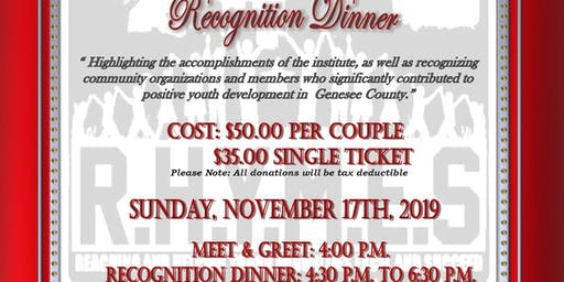 Let's Make a Difference Recognition Dinner