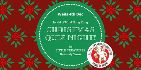 Christmas Quiz Night at Little Creatures! tickets
