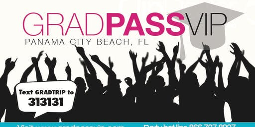 GRAD WEEK VIP CARD 2020:  PANAMA CITY BEACH, FLORIDA