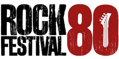 II ROCK 80 FESTIVAL BARRA - Shopping Città  (20 a 22 Dezembro 2019). ingressos