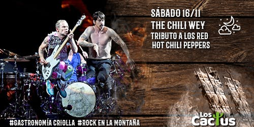 Red Hit Chili Peppers por The Chili Wey