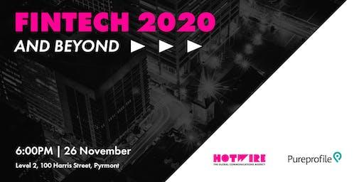 Fintech 2020 and beyond