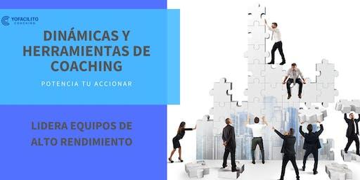 DINÁMICAS Y HERRAMIENTAS DE COACHING PARA EQUIPOS
