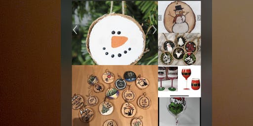 Give your holiday a little sass by painting on wood and glass!
