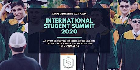 International Student Summit 2020 tickets