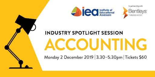 IEA Industry Spotlight - Accounting