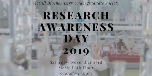Research Awareness Day (RAD) 2019