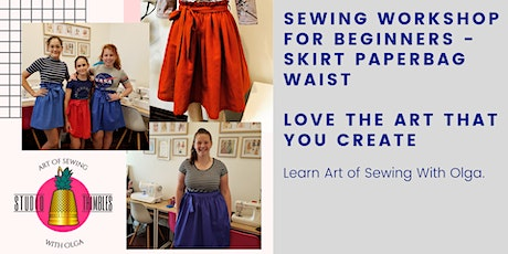 Sewing Workshop – Skirt with Paperbag Waist for your perfect fit! tickets