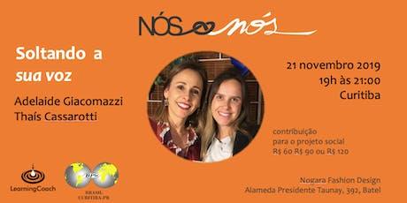 Soltando a sua voz - Curitiba - 21/nov ingressos