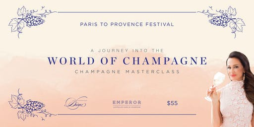 Paris to Provence Champagne Masterclass