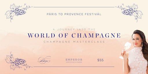 Paris to Provence Champagne Masterclass