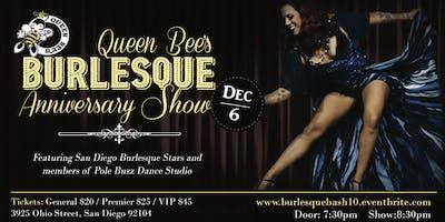 Queen Bee's Burlesque Anniversary Show