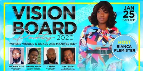 20/20 Vision Board Party tickets