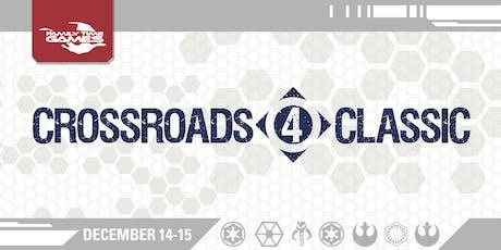 X-Wing Miniatures Crossroads Classic 4 tickets
