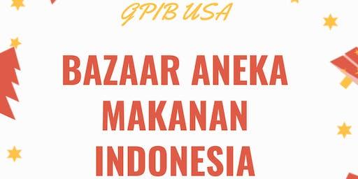 Bazaar Aneka Makanan Indonesia GPIB USA
