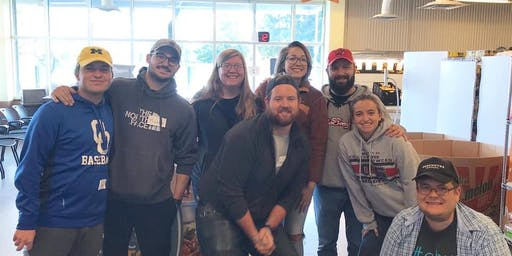 Volunteer for Mid-Ohio Foodbank Kroger Food Pantry - 12/21/19