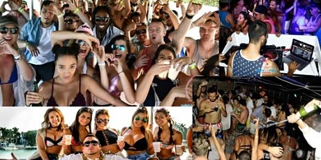 SPRING BREAK BOAT PARTY MIAMI BEACH PARTY BUS-OPEN BAR-GAMES (ALL IN) tickets
