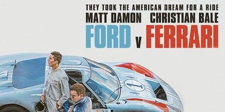 MTA Northern: Ford vs. Ferrari Movie Night, Sylvia Park tickets