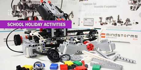 LEGO® Mindstorms EV3 Robotics 2pm (8-12 years) - Burpengary Library tickets